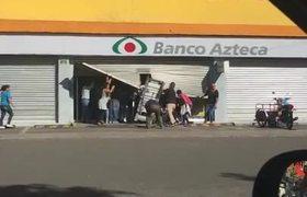 #VIDEO - Saquean y vandalizan Elektra en Ecatepec