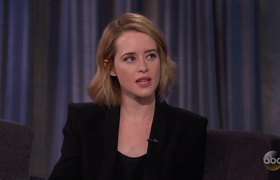 Claire Foy Loves to be Queen - Interview Jimmy Kimmel