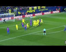 Lionel Messi salva al Barcelona de la derrota ante el Villareal