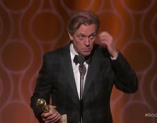 The 2017 Golden Globes - Hugh Laurie Wins Best Supporting TV Actor