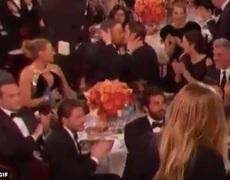Ryan Reynolds and Andrew Garfield KISS
