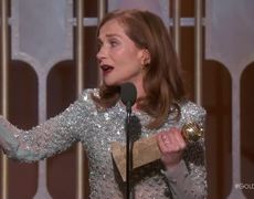 Isabelle Huppert Wins Best Actress in a Drama at the 2017 Golden Globes
