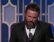2017 Golden Globes - Casey Affleck Wins Best Actor in a Drama