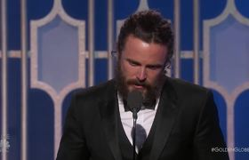 2017 Golden Globes - Casey Affleck Wins Best Actor in a Drama