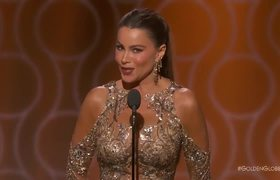 Sofia Vergara Makes An Inappropriate Joke At The Golden Globes 2017