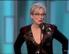 Meryl Streep Speech at Golden Globes 2017 (Sub Spanish)