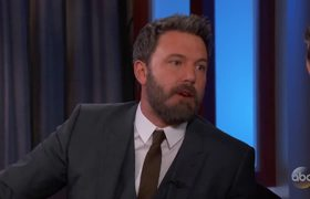 Ben Affleck on New Justice League Movie | Jimmy Kimmel Live