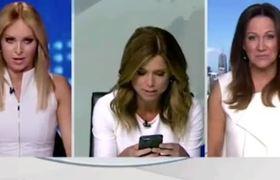 Video - Amber Sherlock makes Julie Snook change before TV appearance