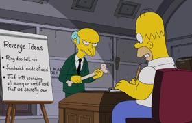 The Simpsons - Homer Helps Mr. Burns Seek Revenge | Season 28 Ep. 12
