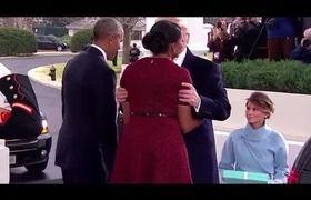 Michelle Obama Hilarious Awkward Reaction to Gift From Melania