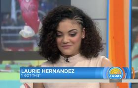 Today Show - Laurie Hernandez