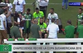 Chapecoense recibe la Copa Sudamericana 2016