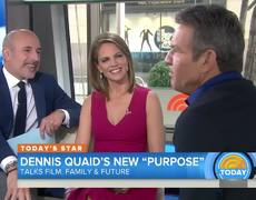 Dennis Quaid interview - Today Show