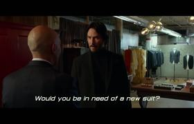JOHN WICK 2 Exclusive Movie Clip - Suiting Up (2017)
