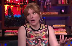 WWHL - Bryce Dallas Howard Talks Replacing 'Twilight' Actor Rachelle Lefevre