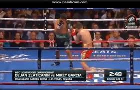 Dejan Zlaticanin vs Mikey Garcia Full Fight Jan. 29, 2017