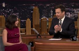 Vanessa Hudgens and Fallon Sing the Friends Theme Song