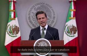 Enrique Peña Nieto, sabíamos que el 2017 sería difícil.
