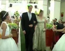 #VIDEO - Shooting in wedding on Brazil