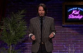 The Tonight Show - Kid Stand-Up With Keanu Reeves and Judd Apatow