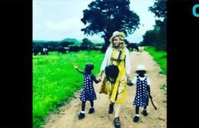 Madonna Adopts Twins