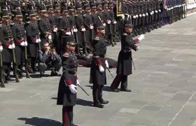 Cadete se desmaya frente a EPN durante conmemoración de la Marcha de la Lealtad
