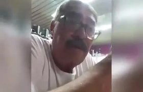 Young woman confronts her violating father and makes him confess