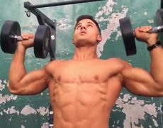Teen body of the year Dominick Nicolai raw pump Gold's Gym Styrke Studio MORE LINKS BELOW