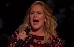 "Adele ""Hello"" Grammys 2017 Opening Performance"