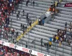 #VIDEO - Bronca entre aficionados de Veracruz y Tigres