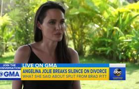 Angelina Jolie habla de Brad Pitt