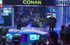 Conan O'Brien se despide de México