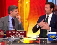 Hugh Jackman Interview on Final Wolverine Movie 'Logan', Oscars