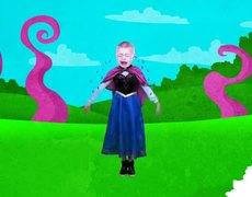 Frozen Elsa & Anna Baby Finger Family Nursery Rhymes Lyrics