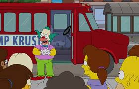 Krusty Returns The Kids Home - THE SIMPSONS