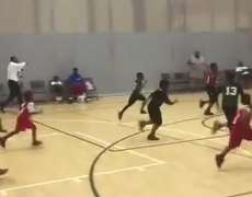 #VIRAL - Kid Gets His Shot Blocked By His Coach