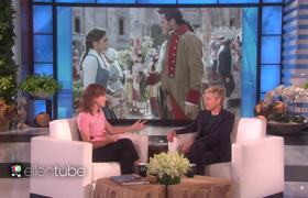 The Ellen Show: Emma Watson Talks 'Beauty and the Beast' and Her First Movie Premiere