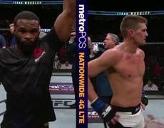#UFC209: Tyron Woodley & Stephen Thompson Octagon Interviews