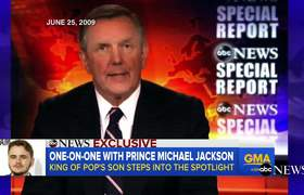 Prince Michael Jackson Interview on Life After Father's Death