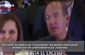 TECATE se burla de Felipe Calderon con comercial