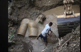 3000 y.o Giant Statue of Pharaoh Ramses II found & Hailed as one of the Most Important of all time