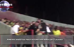 Americanistas protagonizan riña en Tijuana despues de partido