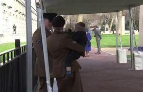#VIDEO - Toddler Has Meltdown in Front of Queen