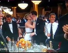 JLaw and Nicholas Hoult Kiss at 2014 Golden Globes