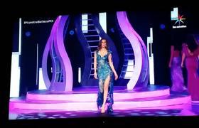 Nuestra Belleza México 2017: Miss Jalisco almost falls