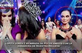 Lupita Jones y su mirada con la ganadora de Nuestra Belleza Mexico