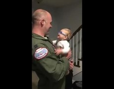 #Hearbreaking: Moment Baby Boy Sees His Father For The First Time With New Glasses