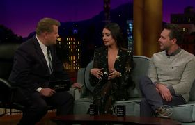 The Late Late Show: Vanessa Hudgens Puked Truffles at SoulCycle