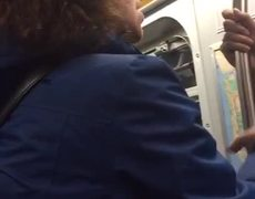 Latina defends Muslim couple from another Latina in New York City (Long Version)