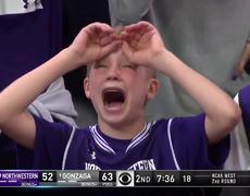 Crying Northwestern Kid Becomes Immediate NCAA Tournament #VIRAL